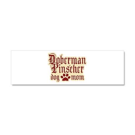 Doberman Pinscher Mom Car Magnet 10 x 3