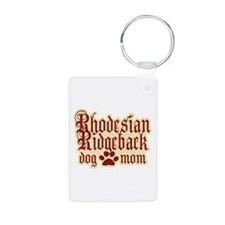 Rhodesian Ridgeback Mom Aluminum Photo Keychain