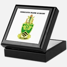 DUI - Sergeants Major Academy with Text Keepsake B