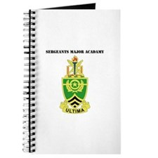 DUI - Sergeants Major Academy with Text Journal