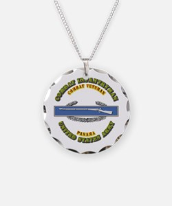 Army - CIB - 1st Award - Panama Necklace