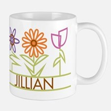 Jillian with cute flowers Mug