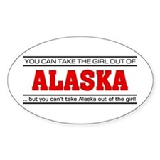'Girl From Alaska' Decal