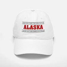 'Girl From Alaska' Baseball Baseball Cap