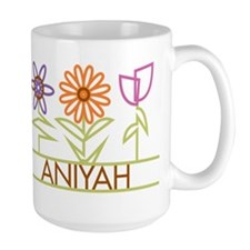 Aniyah with cute flowers Mug