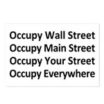 Occupy Every Street Postcards (Package of 8)