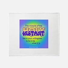 ACIM-Holy Instant Throw Blanket