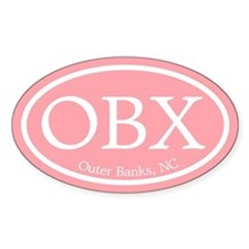 OBX Pink Outer Banks Decal