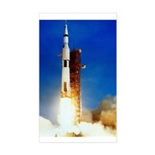 Saturn V Launch Decal