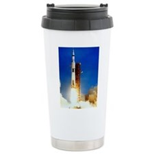 Saturn V Launch Travel Mug