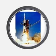 Saturn V Launch Wall Clock