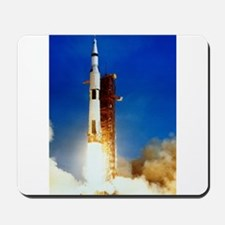 Saturn V Launch Mousepad