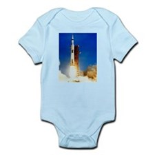 Saturn V Launch Infant Bodysuit