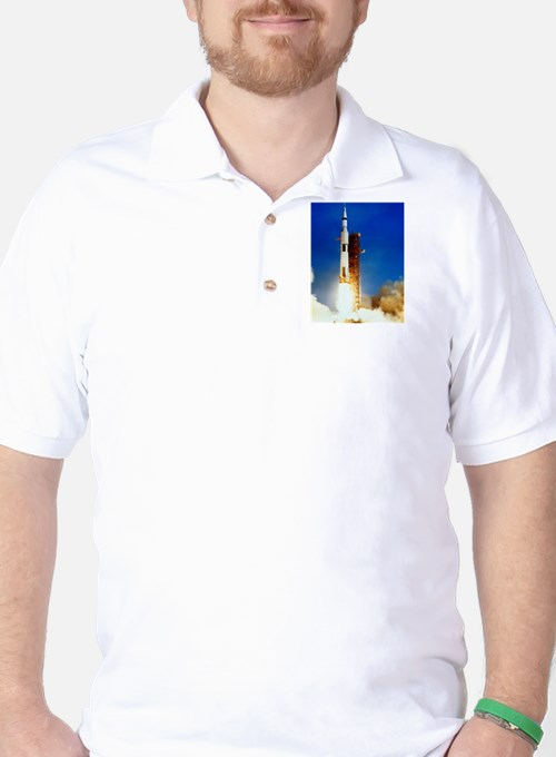 Saturn V Launch T-Shirt