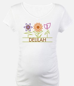 Delilah with cute flowers Shirt