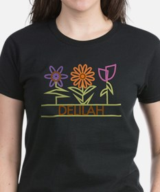 Delilah with cute flowers Tee