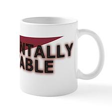 Judgmentally Unstable Red Mug