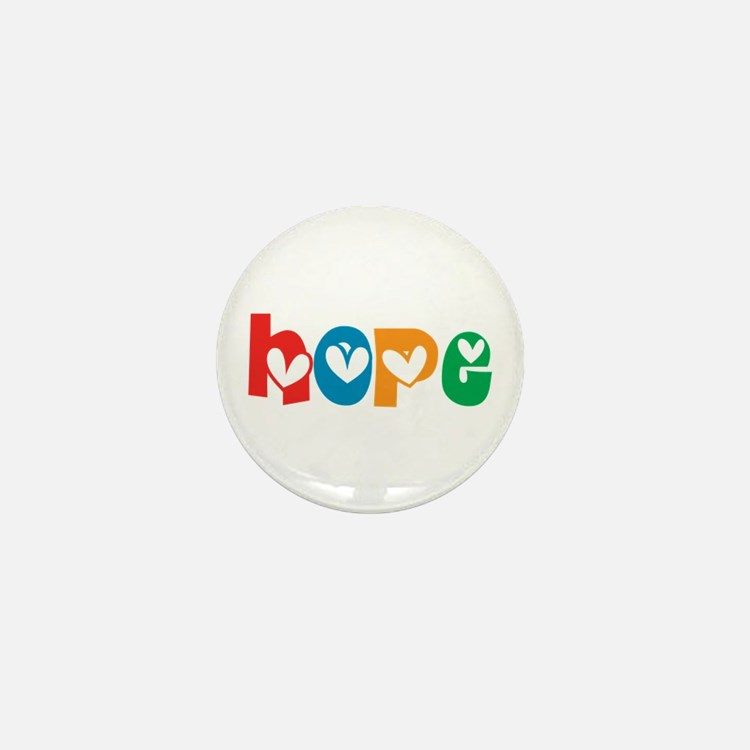 Hope_4Color_1 Mini Button