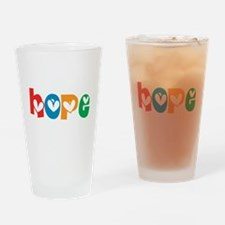 Hope_4Color_1 Drinking Glass