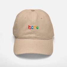 Hope_4Color_1 Baseball Baseball Cap