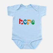 Hope_4Color_1 Infant Bodysuit