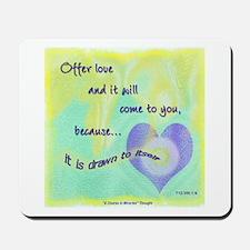 ACIM-Offer Love Mousepad