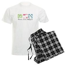 Peace, Love, Pomapoos Pajamas