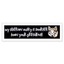 """My Siberian Husky is Smarter Than Your Presi"
