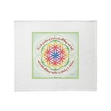 ACIM-Function of Love Throw Blanket