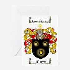 MORAN CREST Greeting Card