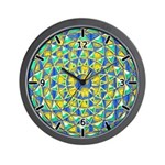 MANDALA SERIES:  Jeweled Cavern Wall Clock