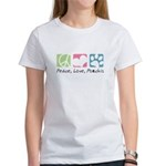 Peace, Love, Pomchis Women's T-Shirt