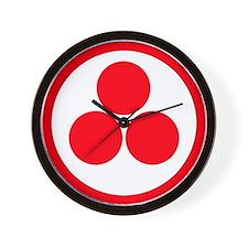 """<b>SACRED SYMBOLS::</b>""""Pax Cultura"""" Wall Clock"""