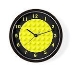 FRUIT & VEGGIE SERIES: Lemon Yellow W. Clock