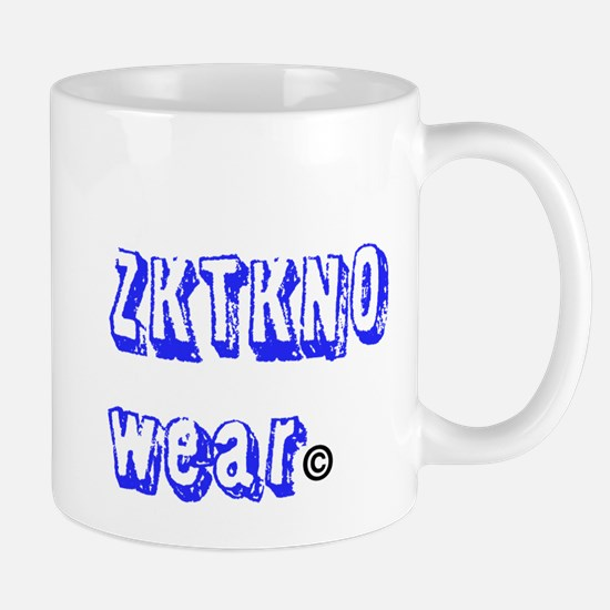 zktkno wear blue Mug