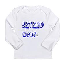 zktkno wear blue Long Sleeve Infant T-Shirt