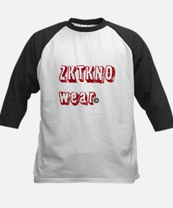 zktkno wear red Kids Baseball Jersey