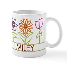 Miley with cute flowers Mug