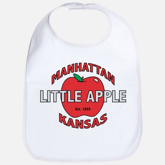 Little Apple Bib