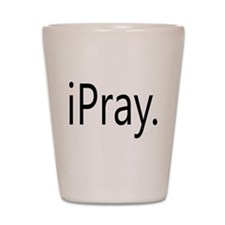 iPray Shot Glass