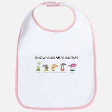 Know Your Mushrooms Bib