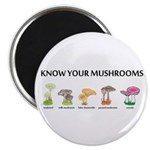 Know Your Mushrooms Magnet