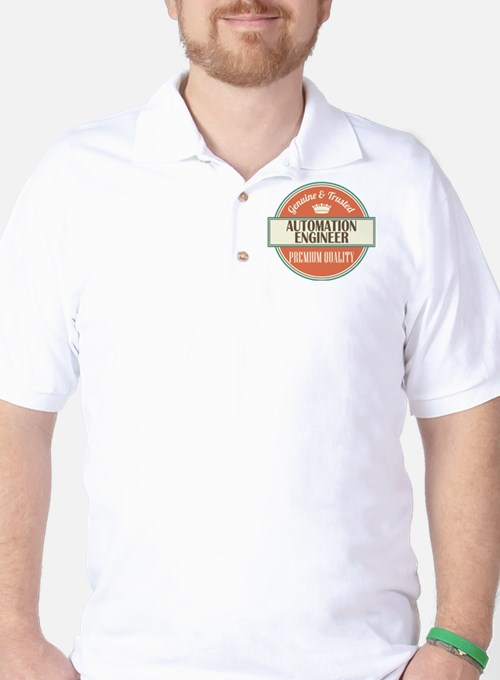 Automation Engineer Gift Idea Golf Shirt