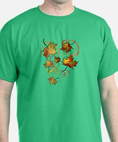 Racing The Autumn Wind T-Shirt