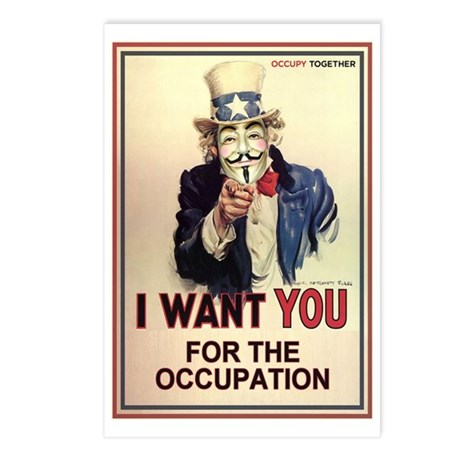 Occupy Everywhere Postcards (Package of 8)