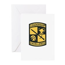 Army - Shoulder Sleeve Insignia - ROTC Greeting Ca