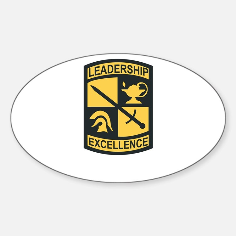 SSI - US Army Cadet Command Sticker (Oval)