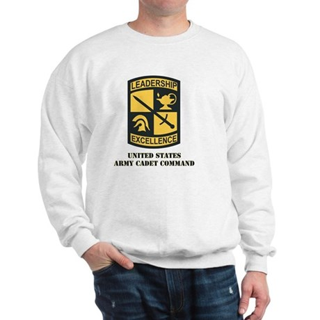SSI - US Army Cadet Command with Text Sweatshirt