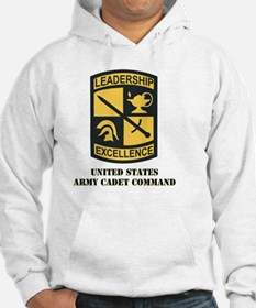 SSI - US Army Cadet Command with Text Hoodie