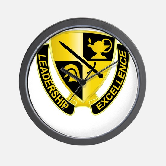 DUI - US Army Cadet Command Wall Clock